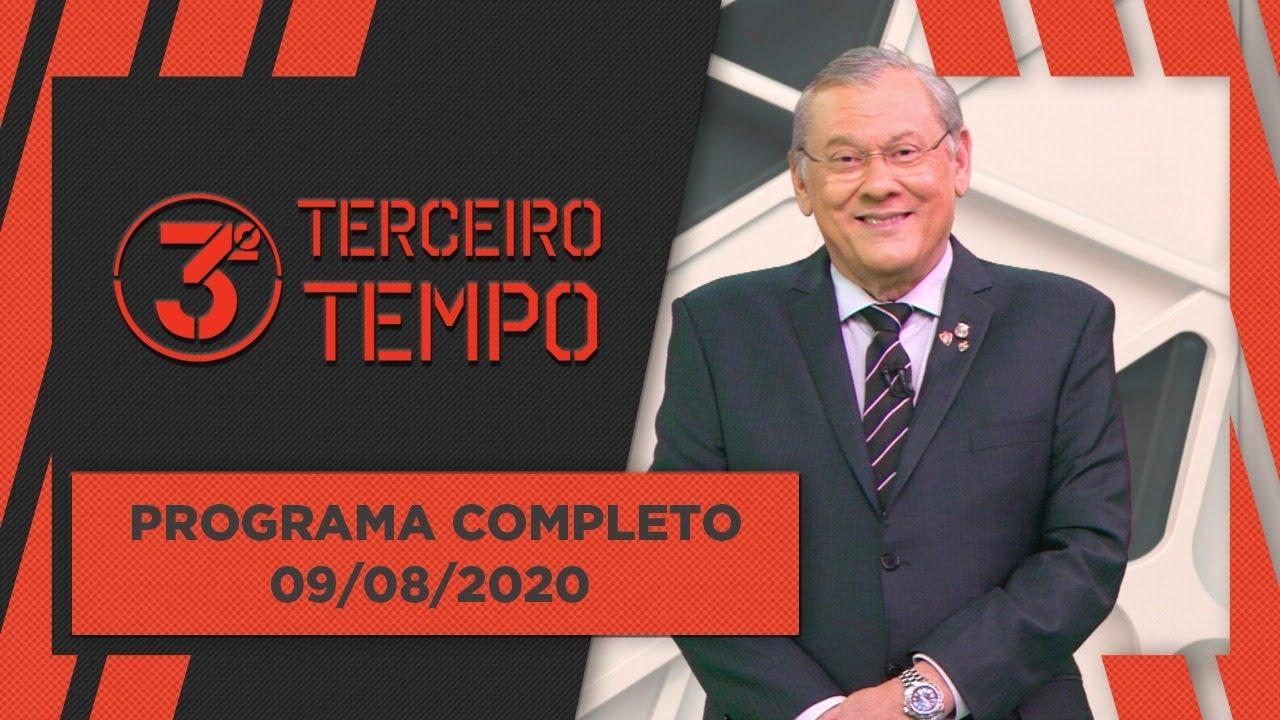 [AO VIVO] 3º TEMPO - 09/08/2020