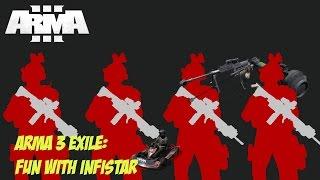 Arma 3 Exile: Fun with infiSTAR