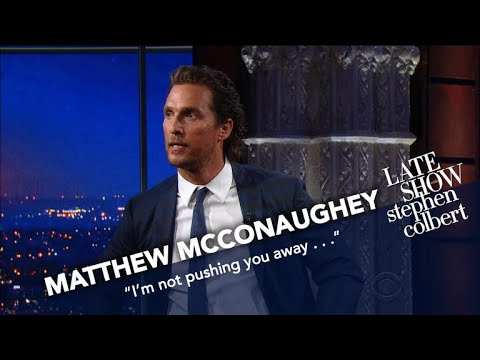 Matthew McConaughey Has Stephen's Old Sketches Memorized