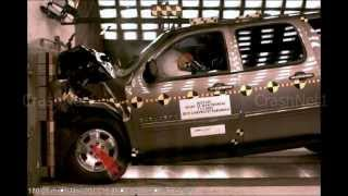 Chevrolet Suburban | Frontal Crash Test | High Speed Camera | 2013 NHTSA | Full Length test in HD