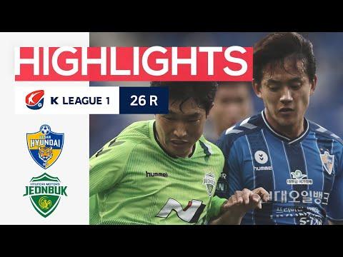 Ulsan Hyundai Jeonbuk Goals And Highlights