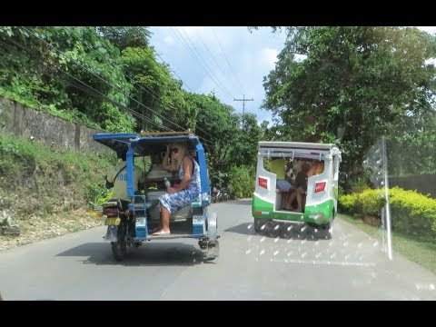 Mit dem Tricycle von A nach B - Transport auf Boracay
