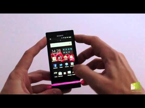 Review Sony Xperia U en español | Faqsandroid.com