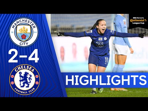 Man City 2-4 Chelsea | Blues Produce Sensational Comeback In The Quarters | Continental Tyres Cup