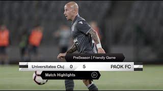 Τα στιγμιότυπα του FC Universitatea Cluj-ΠΑΟΚ - PAOK TV