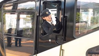 TRAIN SUITE 四季島 女性車掌 四季島 検索動画 21