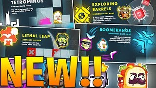 BRAND NEW CHARACTERS AND POWERUPS - MOVE OR DIE