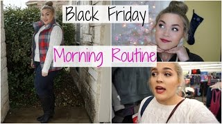 Black Friday Morning Routine 2015 | Follow Me Around Shopping!