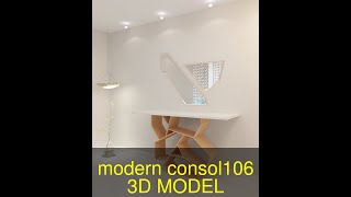 3D Model of modern consol-106 Review