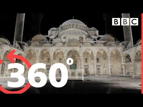 360° Explore Hagia Sophia, Istanbul's incredible Roman church - BBC