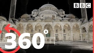 360° Explore Hagia Sophia, Istanbul's incredible Roman church - BBC thumbnail