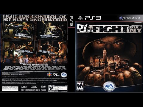 Def Jam Fight For NY PS3