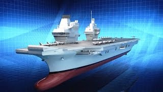 BAE Systems - HMS Queen Elizabeth Aircraft Carrier Amazing Facts [1080p]