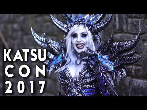 KATSUCON 2017 - So Much Cosplay!  4k + 1080