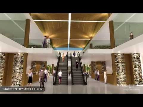 Architectural Animation - Queenstown Convention Centre