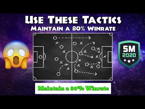 USE THESE TACTICS AND MAINTAIN A 80% WINRATE IN SOCCER MANAGER 2020