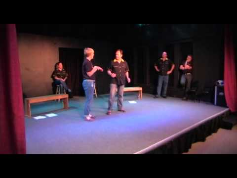 "Not Quite Right Comedy Improv ""Here Comes Charlie"""