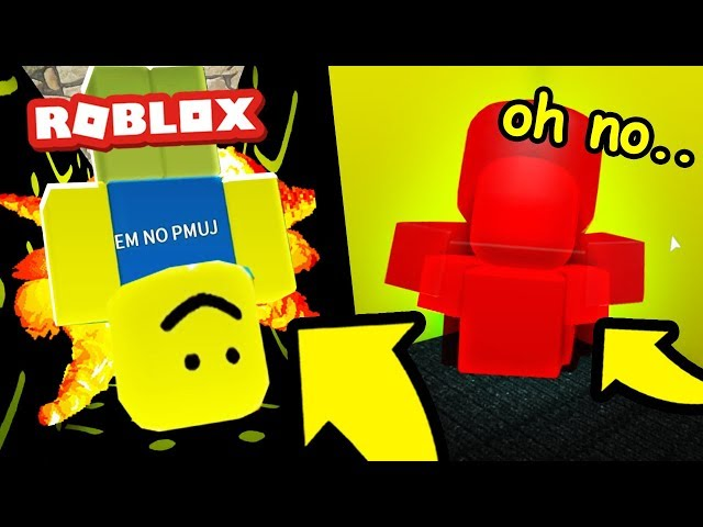 Oof Man Hacked Roblox! (Roblox Story)