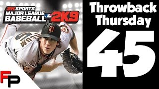 MLB 2K9 - Throwback Thursday - Ep. 45