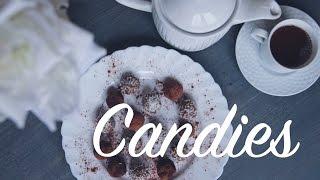 Домашние конфеты/ Полезные конфеты/ Конфеты без сахара♡