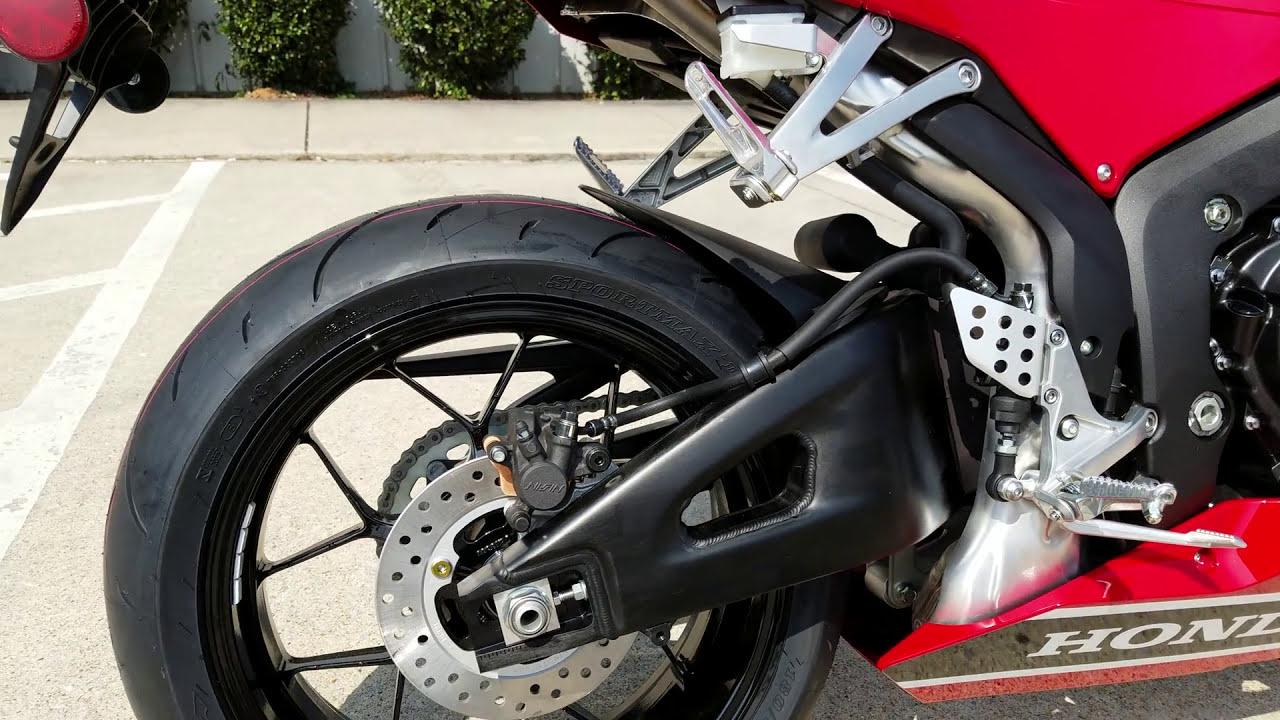 Honda Cbr600rr Specs