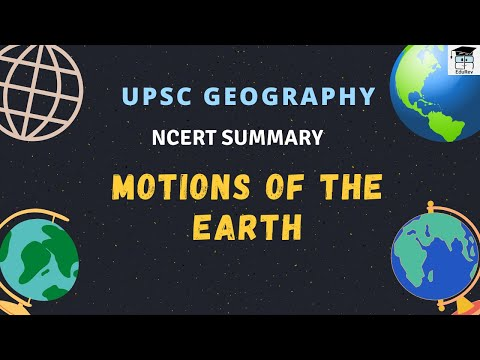 Motions Of The Earth Physical Geography UPSC Exam Preparation In Hindi