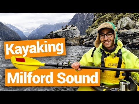 Kayaking in Milford Sound –  New Zealand's Biggest Gap Year – Backpacker Guide New Zealand