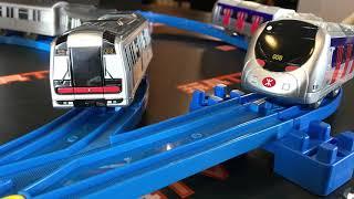 TOYSTV S6 EP6 P5「爆玩具」Takara Tomy PLARAIL MTR Train 2002 & 1998 Deluxe Sets Unbox