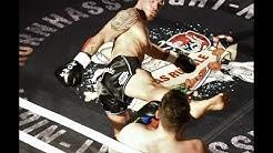 Volltreffer von Mario Kornhass im EM-Kampf bei der Fight Night im Rosenheimer Ballhaus