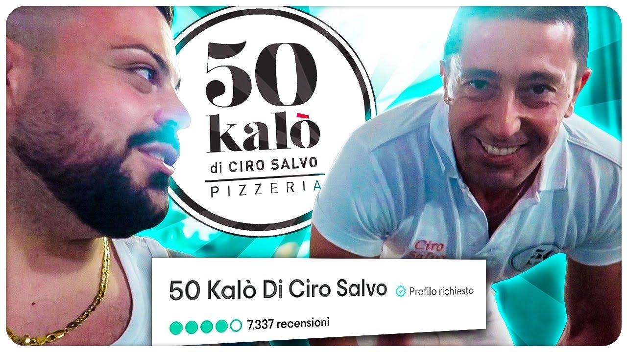 50 Kalò di Ciro Salvo! LA PIZZA MIGLIORE DI NAPOLI? Proviamola - YouTube