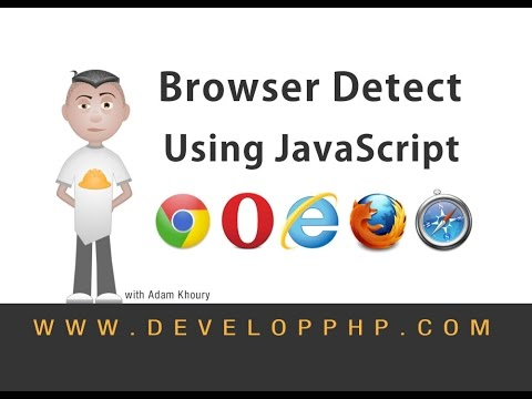 How to Detect User Browser JavaScript Programming Tutorial