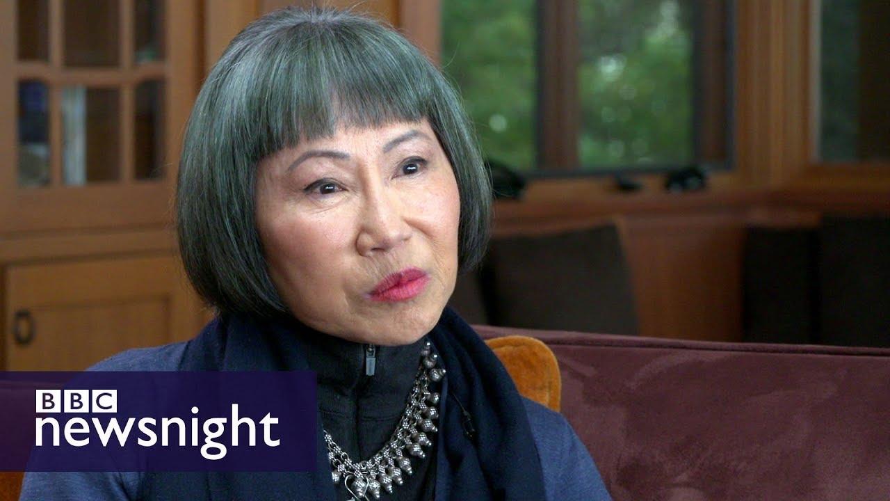 Author Amy Tan speaks to Stephen Smith - BBC Newsnight