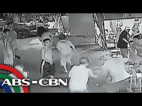 UKG: Pananaksak sa lalaki, sapul sa CCTV