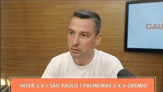 Balanço Final |  Inter 3 x 1 São Paulo | Palmeiras 2 x 0 Grêmio | 14/10/2018
