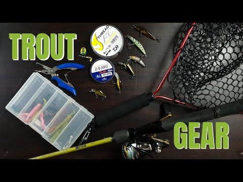 What Gear To Use Trout Fishing Victorian Streams