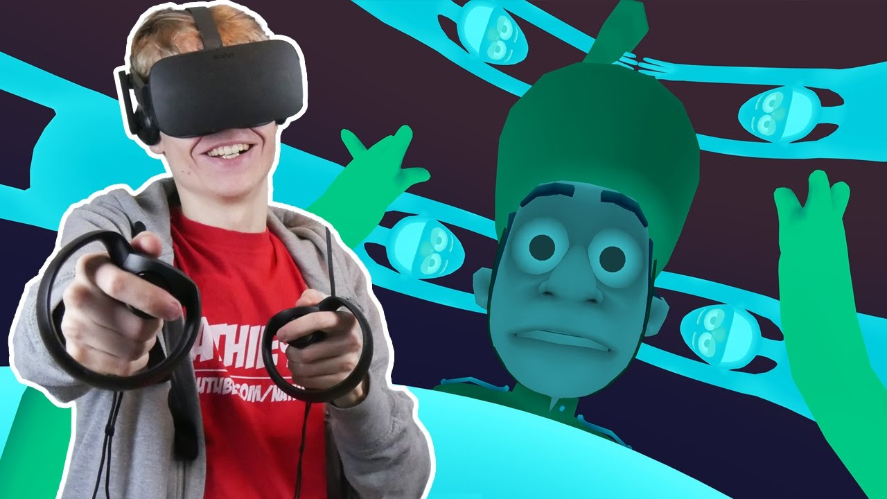THE REVOLUTION OF DANCE GAMES | Old Friend VR (Oculus Touch Gameplay)