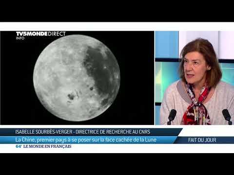 La Chine, premier pays à se poser sur la face cachée de la Lune