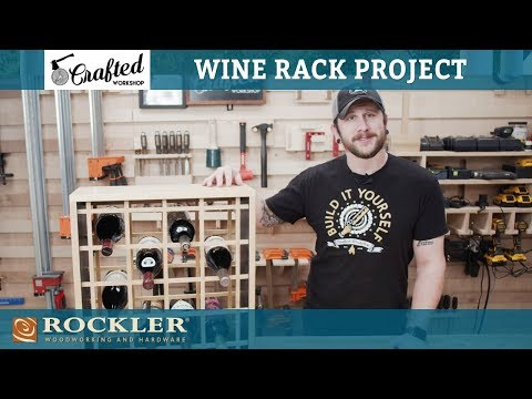 Crafted Workshop | How to Make a Wine Rack | Woodworking Project