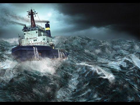Alaskas Sturm Fischer Durch Tornados Und Riesenwellen