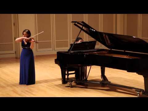 """Yulia Ziskel plays """"Melody"""" by Tchaikovsky"""