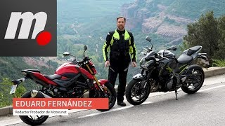 Kawasaki Z900 vs Suzuki GSX-S 750 | Comparativo / Test / Review en español | motos.net