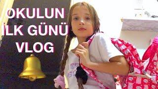 Okulun İlk Günü Vlog. Ecrin Su Çoban