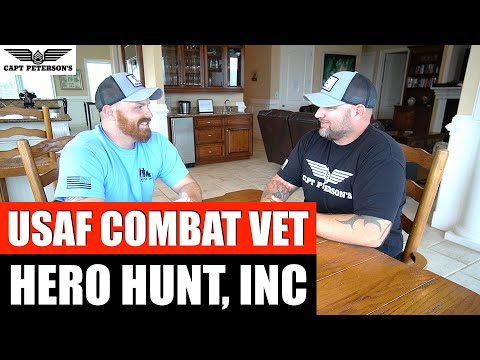 Hero Hunt Inc, SSgt Mike Manis Wounded Warrior - Veteran's Day Deep Sea Fishing St George Island, FL