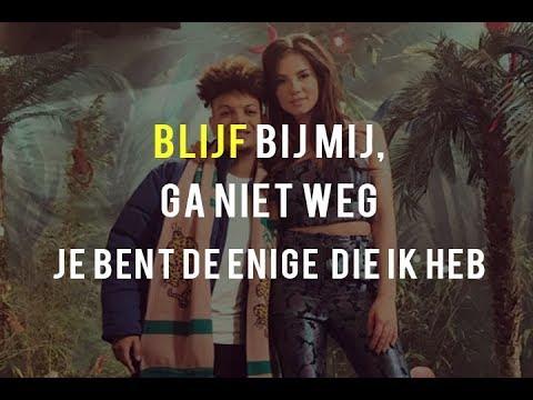 ronnie flex ft. maan - blijf bij mij (lyrics)