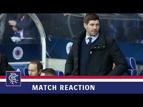 REACTION | Steven Gerrard | Rangers 1-1 Hibs