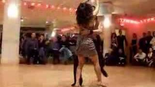Sonny Menguito & Kirsten Chin Dancing Samba