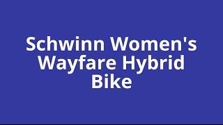 Best hybrid bikes for women | Hybrid bikes for women | Schwinn Women's Wayfare Hybrid Bike