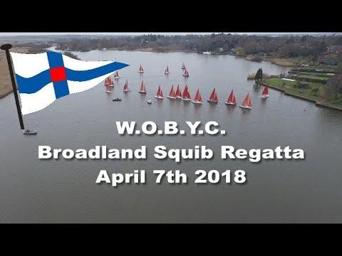 WOBYC Broadland Squib Regatta 2018 Short version