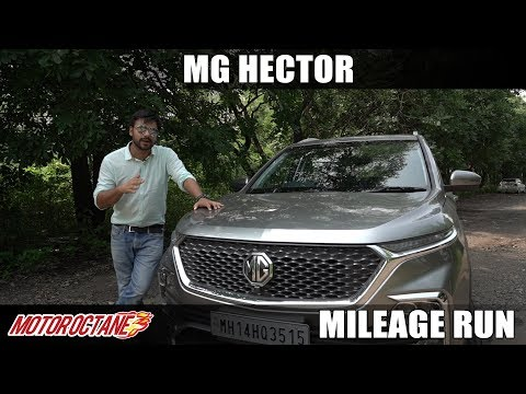 MG Hector Diesel City Mileage | Hindi | MotorOctane