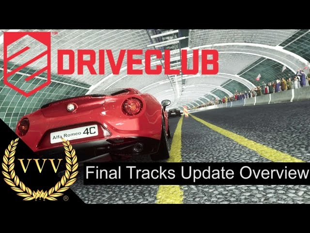 Driveclub's Final Track Update Overview
